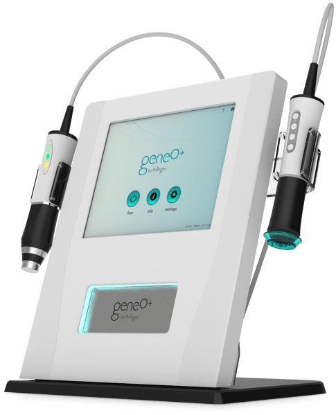 The OxyGeneO® effect produces CO2 bubbles which gently burst on the skin surface creating a physiological response, sending oxygen-rich blood to the area. This increases capillary flow and skin metabolism. Oxygenation results in optimal absorption of active ingredients.