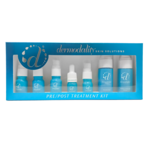Dermodality Professional Skin Care Pre/Post Treatment Kit - 7pcs